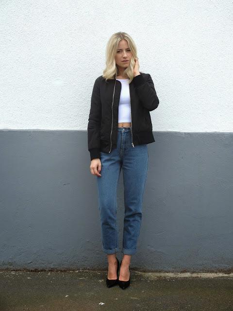 Bomber Jacket & Jeans