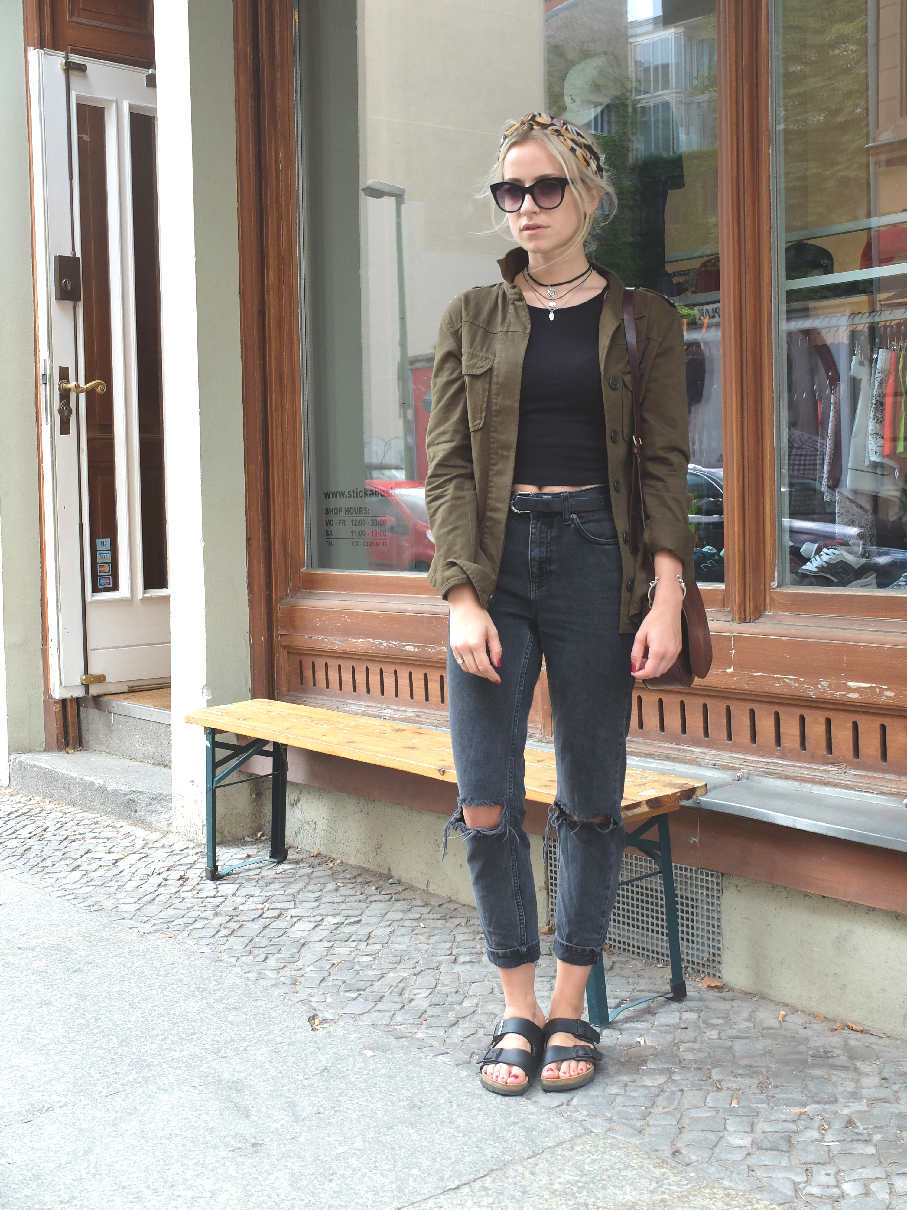 zara jacket inspiration military