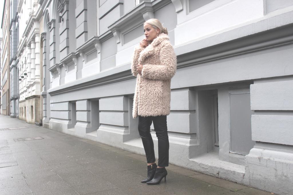 Rose Winter Coat