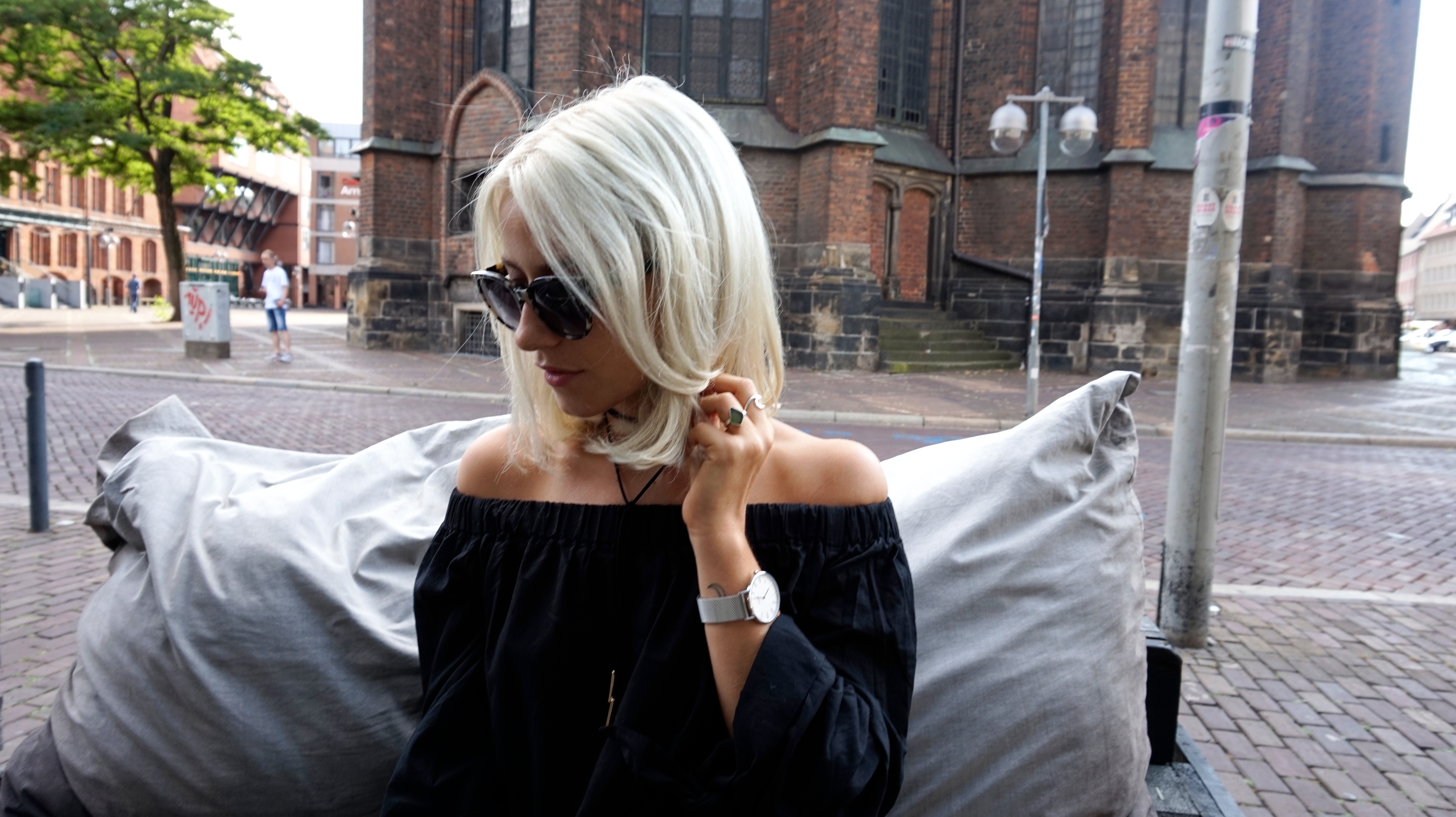 New Haircut Platinum Blonde Long Bob Tondemus Hannover