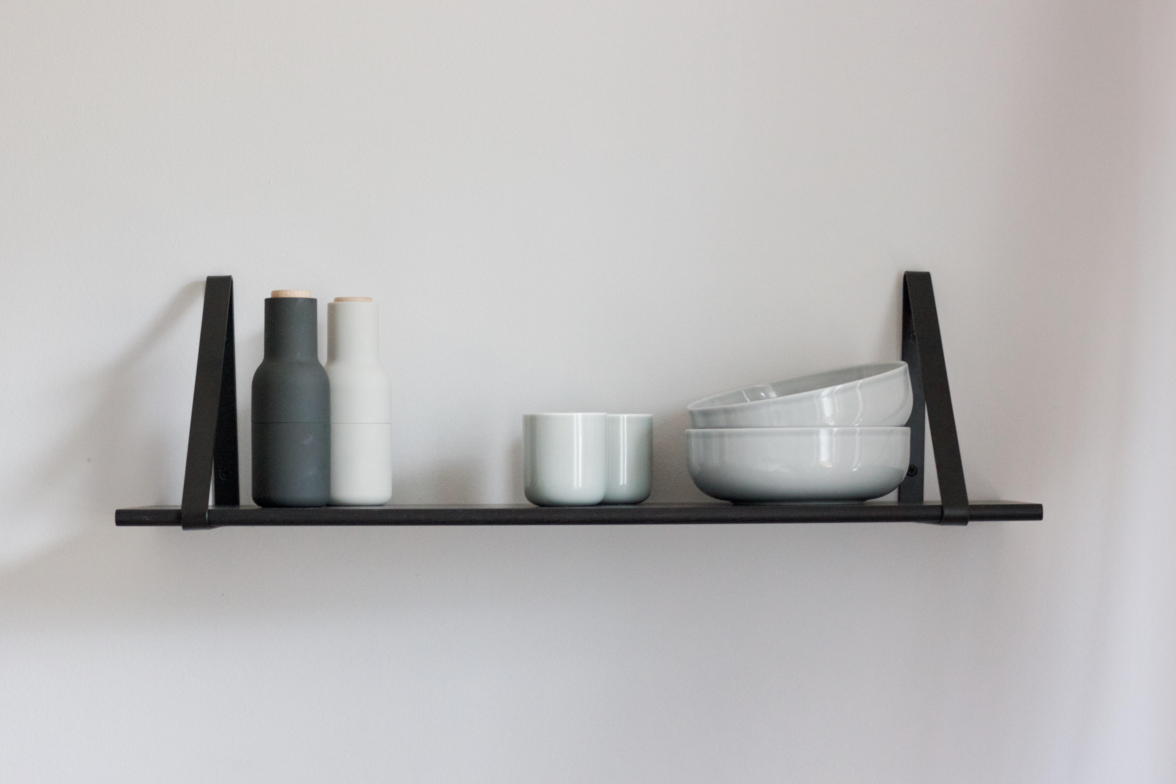 Beau Black Ferm Living Shelf From Connox